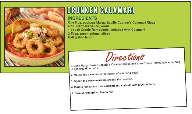 Drunken Calamari