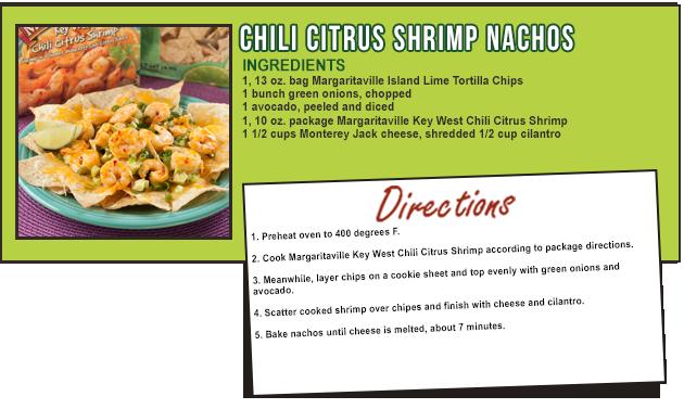 CHILI CITRUS SHRIMP NACHOS