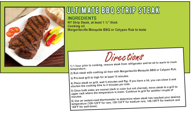 Ultimate BBQ Strip Steak