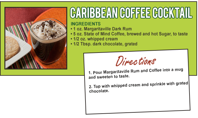 Caribbean Coffee Cocktail