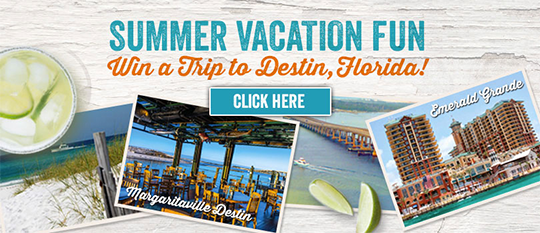 Win A Trip To Destin!