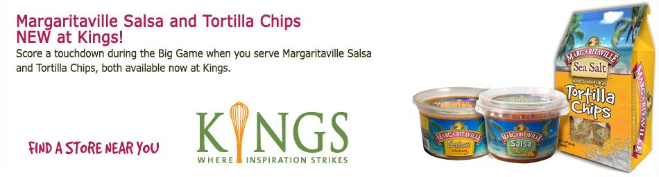 Margaritaville Salsa & Tortilla Chips!