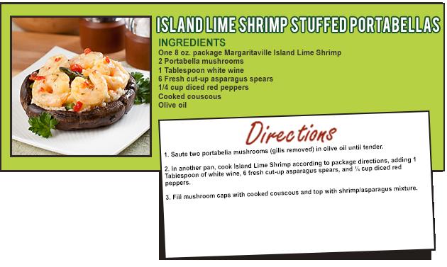 Shrimp Stuffed Portabella