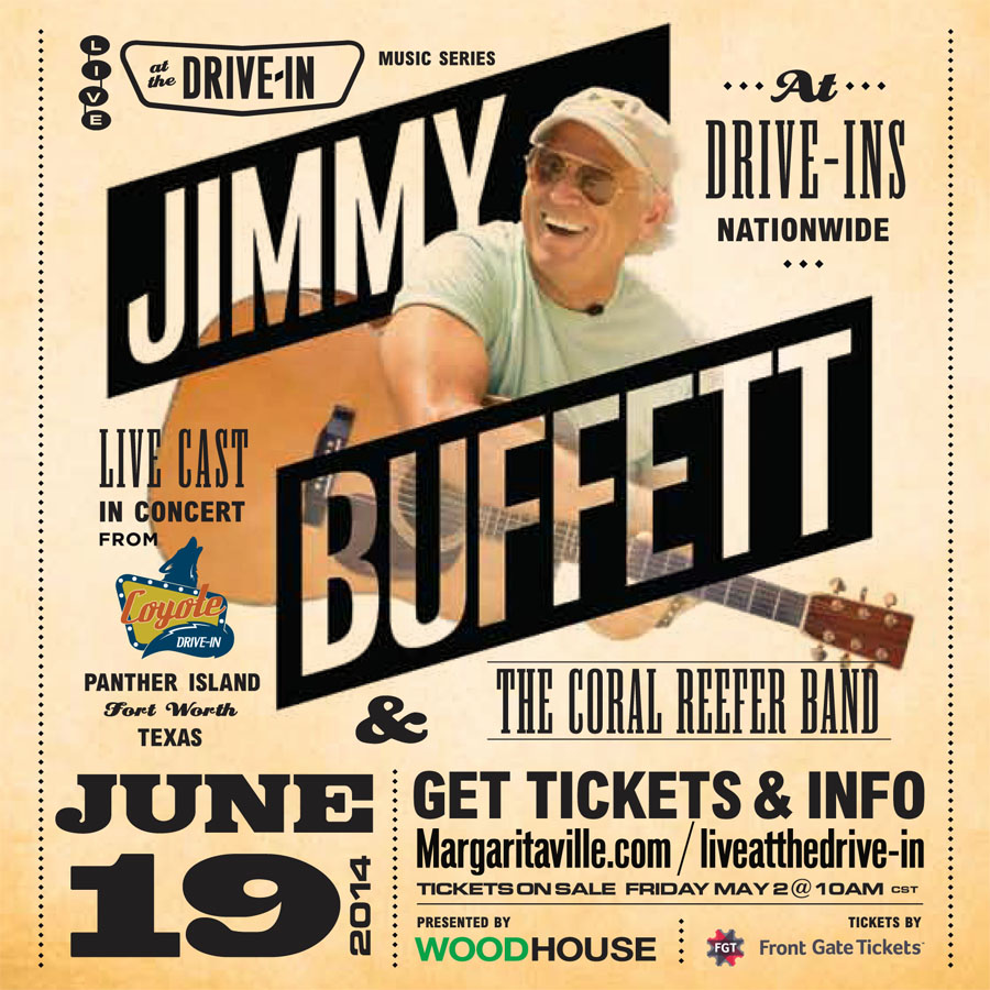 Jimmy Buffett and the Coral Reefer Band Live at the Drive-in