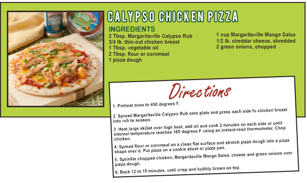 CALYPSO CHICKEN PIZZA