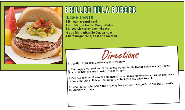 GRILLED HULA BURGER